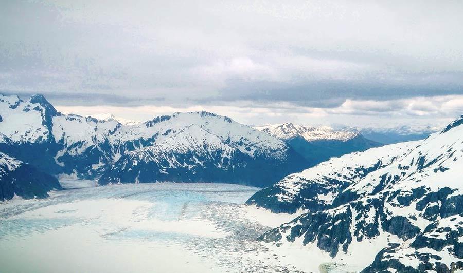 Mendenhall-Gletscher, Alaska