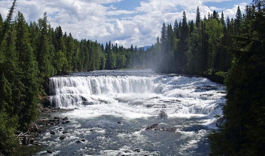 Dawson Falls, Wells Gray P.P.