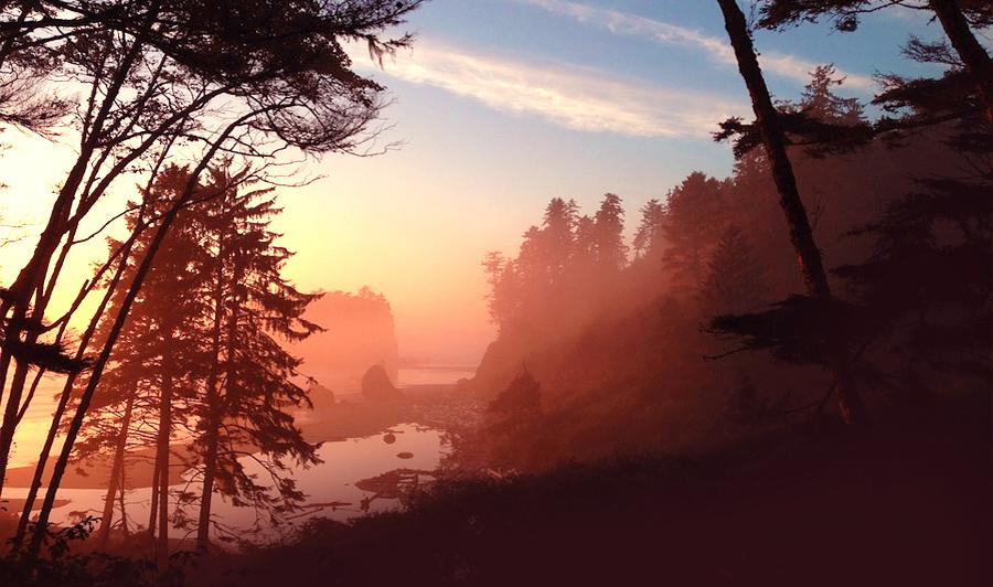 Ruby Beach Sonnenaufgang