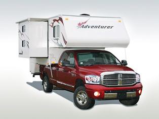 Pick-up-Camper TCB von Fraserway RV