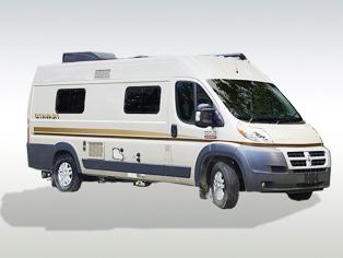 Van Conversion von Fraserway RV